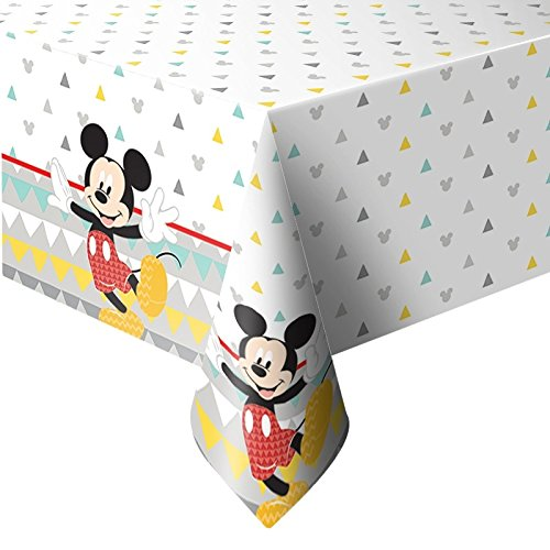 Tischdecke aus Kunststoff 120 x 180 cm Mickey Mouse Awesome