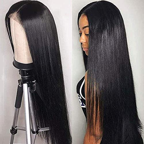 TOOCCI Lace Front Human Hair Wigs T-Part 13x4x1 Lace Front Wigs with Baby...