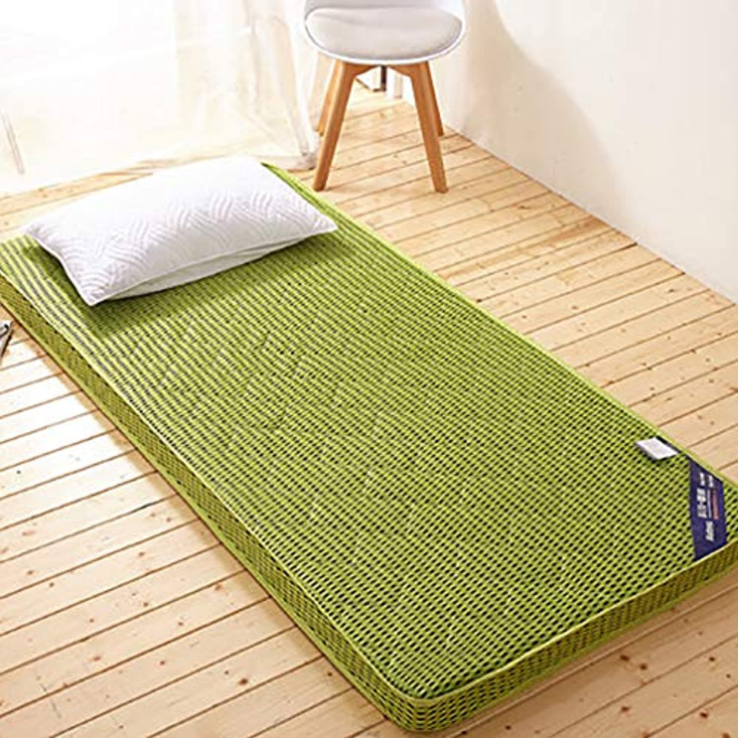 Thick Japanese Futon Tatami mat,Sleeping pad Foldable Soft Mattress Topper Single Double Breathable Student Dormitory Mattress-D 80x190x6cm
