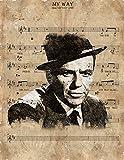 The Shizzle Print Co My Way Frank Sinatra No.1
