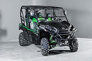 Kawasaki Teryx Full Tilting UTV Windshield- 4 seater and 2 seater 2016 and newer. Made in USA-Best of both world half when you want and full when you need.