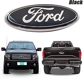 9inch Ford F150 Emblem Front Grille Tailgate Emblem Oval 9 X3.5  Decal Badge Nameplate Fit Ford 2004-2014 F250 F350 11-14 Edge 11-16 Explorer 06-11 Ranger