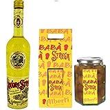 Liquore strega 700 ml + confezione di babà imbevuti di liquore strega 750 gr