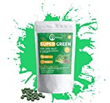 Niikam Organic Super Greens Complex Best Dietary Supplement with 20 Greens & Vegetables