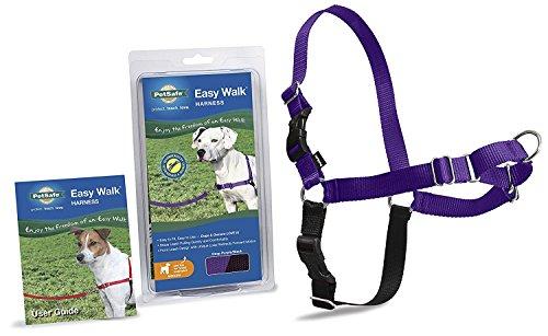 PetSafe Dog Nylon Easy Walk Harness Reduce Pulling Medium Purple/Black
