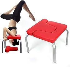 WUPYI2018 Yoga Inversie Stoel,Yoga Kruk Yoga Hoofdstand Bank,Ideaal voor Workout, Stress Relieve en Fitness