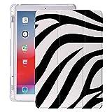 lingtai Vache de Motif Animal pour air 4 Coque iPad Porte-Crayon Mignon 10.2 8e 2020 7e 12,9 Pro 11...