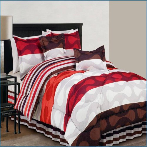 DR International Donelly 6 Piece Comforter Set Size: Queen