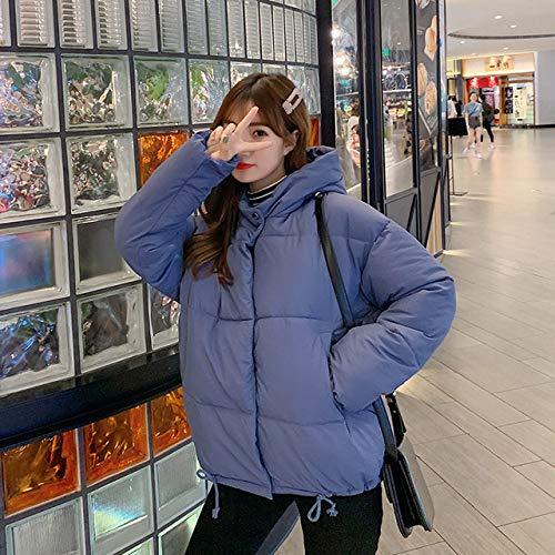 WFSDKN dames parka winterjas vrouwen blauwe mantel mode vrouwelijk staande winterjas vrouwen parka warm casual plus size mantel jas parka