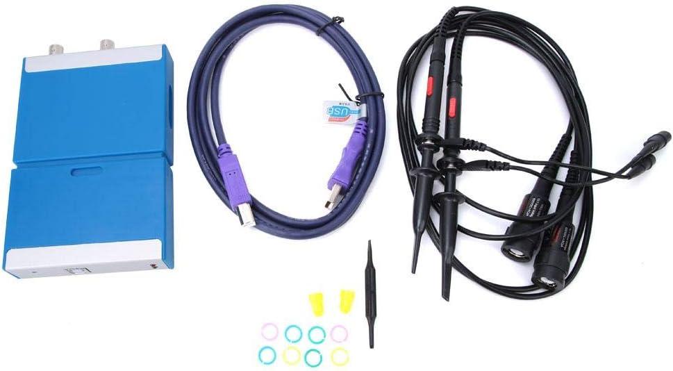 Cocosity Long Beach Austin Mall Mall 50MHz Bandwidth PC Virtual with Digital Pr Oscilloscope