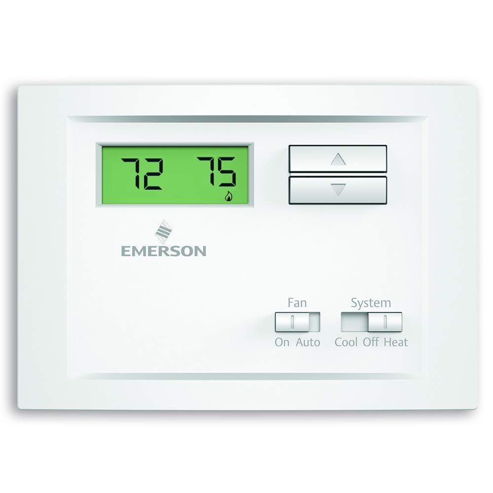 Emerson NP110 Non Programmable Single Thermostat