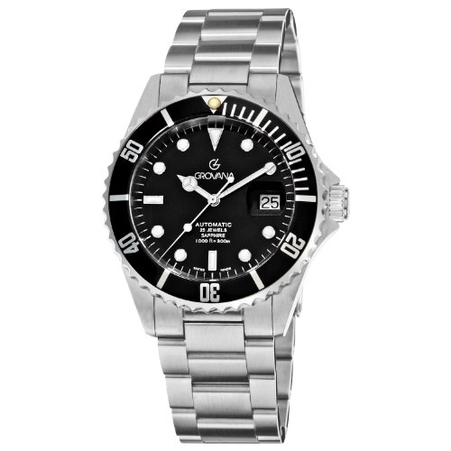 Grovana Diver Automatic 1571.2137- Orologio da uomo