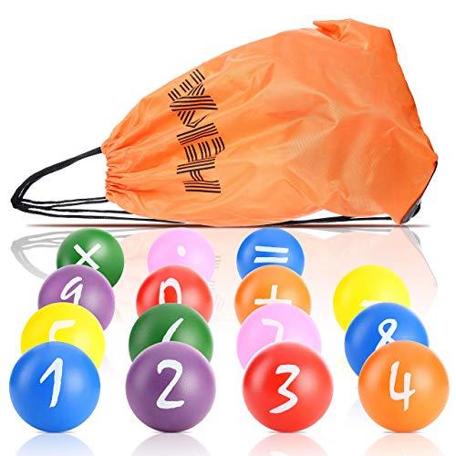 Hekxe 15 Palline Colorate Palline Per Piscina Bambini Giochi Per Piscina Box Bambini Piscine Gonfiabili Per Bambini Casetta Per Bambini Piscina Per Bambini Pallina Antistress Mano Terapia