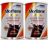 Meritene Extra 450 gr, Complemento Dietético - Sabor Chocolate - PACK 2 UN.