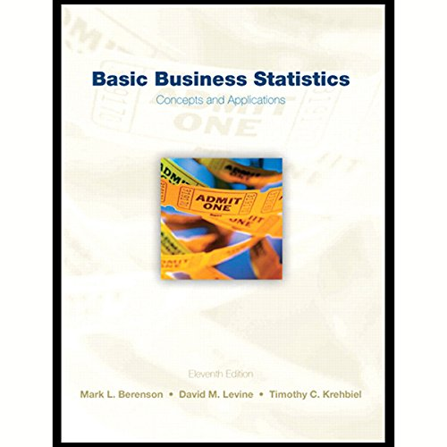 VangoNotes for Basic Business Statistics, 11/e                   By:                                                                                                                                 Mark L. Berenson,                                                                                        David M. Levine,                                                                                        Timothy C. Krehbiel                               Narrated by:                                                                                                                                 Therese Plummer,                                                                                        Tom Wayland                      Length: Not Yet Known     7 ratings     Overall 2.3