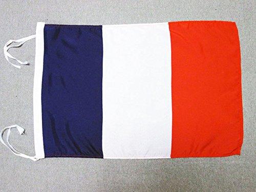 AZ FLAG Flagge Frankreich 45x30cm mit Kordel - FRANZÖSISCHE Fahne 30 x 45 cm - flaggen Top Qualität