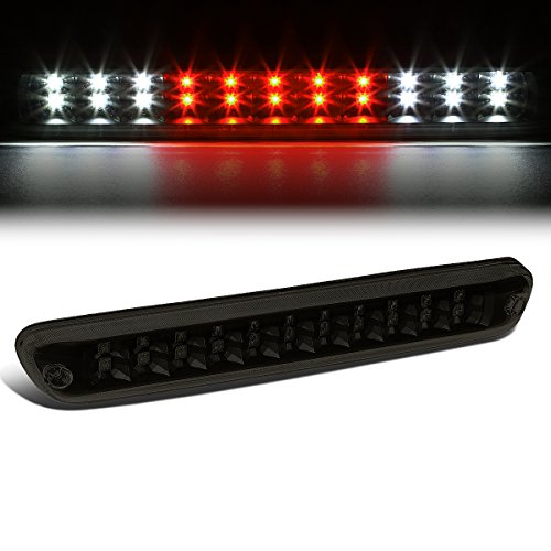 Dual Row Full LED Tinted Housing 3rd Third Tail Brake Light Cargo Lamp Compatible with Chevy Colorado GMC Canyon 04-12