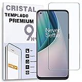 REY Protector de Pantalla para ONEPLUS Nord N10 5G - ONEPLUS N100, Cristal Vidrio Templado Premium