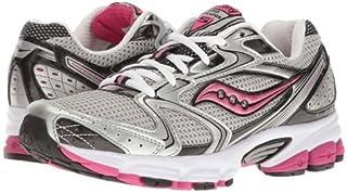 Saucony(サッカニー) レディース 女性用 シューズ 靴 スニーカー 運動靴 Grid Stratos 5 - Silver/Black/Pink [並行輸入品]