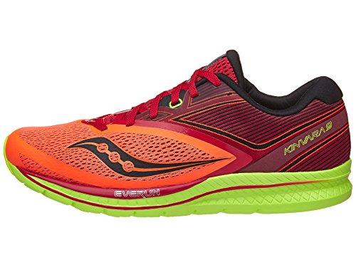 Saucony Unisex Men's Kinvara 9 Running Shoe, Orange/red, 9 US