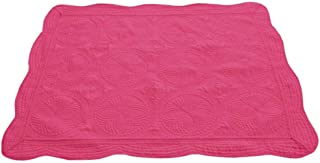 CFP 100% Cotton Baby Quilts Blanket - Rose Red Heirloom Baby Quilts, Embossed Nice Stitched Quilts, 36
