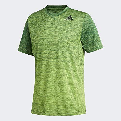 adidas Gradient tee Camiseta, Hombre, glgrme, 3XL