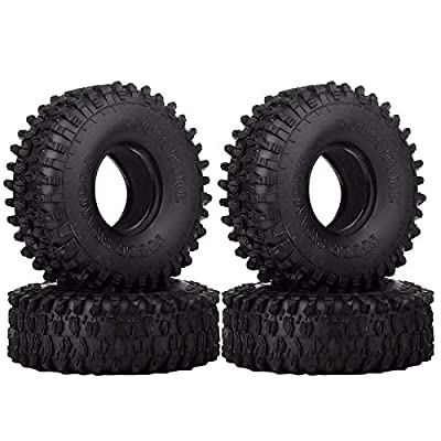 4PCS 4.7 Inch Outer Diameter RC Crawler Tires