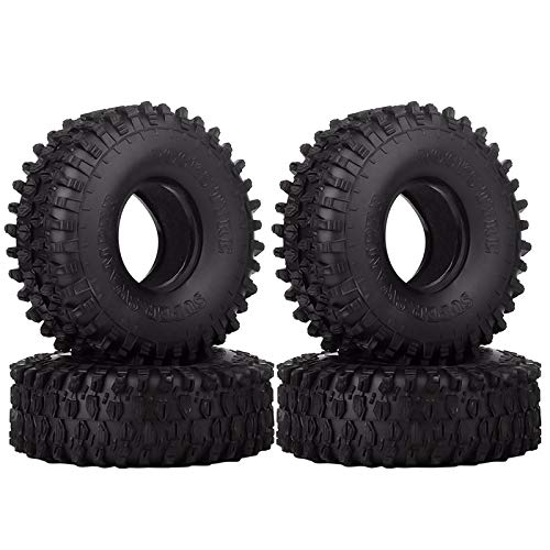 INJORA 4PCS 1,9 Neumáticos para 1:10 RC Rock Crawler Axial SCX10 90047 SCX10 III AXI03007 D90 D110 TF2 Tamiya CC01 Traxxas TRX-4