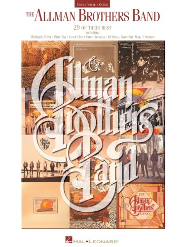 Allman Brothers Band Collection Songbook (PIANO, VOIX, GU) (English Edition)