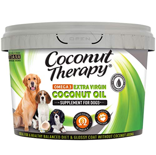 TIANA Fair Trade Organics Coconut Oil Omega 3 Supplement For Dogs 500ml (Pack of 1)