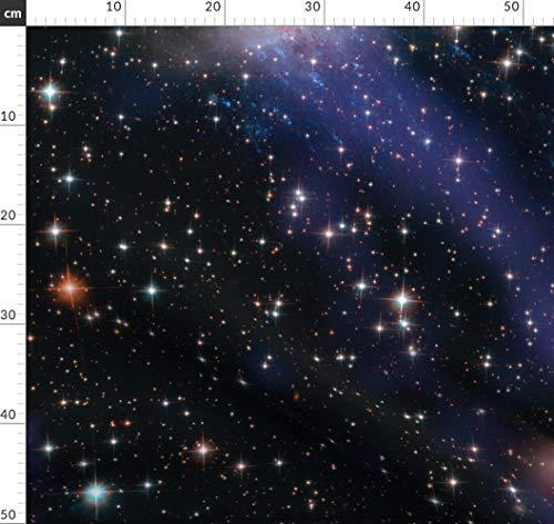 Weltraum, Galaxie, Universum, Sterne, Sci Fi, Nasa Stoffe - Individuell Bedruckt von Spoonflower - Design von Peacoquettedesigns Gedruckt auf Baumwollstoff Klassik
