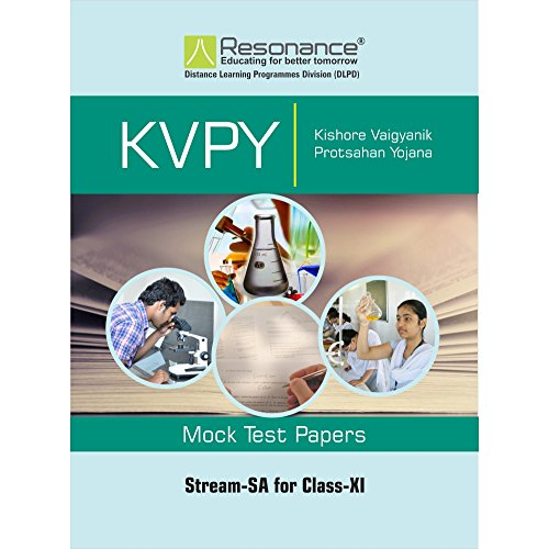 KVPY SA Stream Mock Test Papers for Class 11th