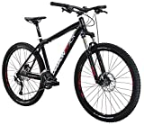 """Diamondback Bicycles Overdrive Sport Hard Tail Compete Mountain Bike with 27.5"""" Wheels, 22""""/X-Large, Dark Blue"""
