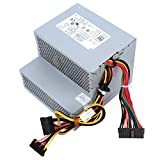 F255E-01 N249M 255W Power Supply Replacement for Dell Optiplex 580 760 780 960 980 DT PSU AC255AD-00 H255E-01 L255P-01 D255P-00 DPS-255BB A V6V76 RM110 FR597 CY826