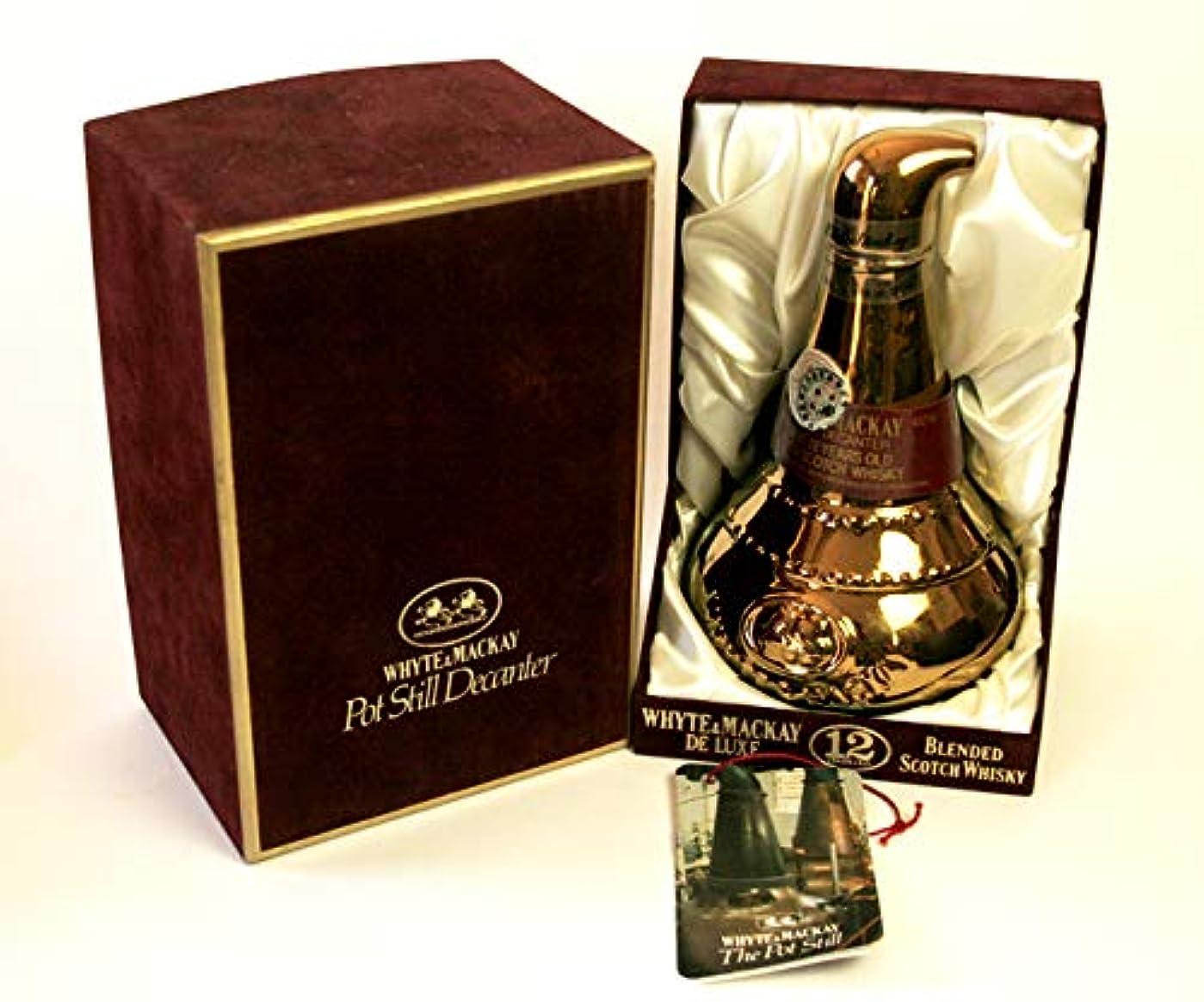 手書き好ましいスモッグ[古酒] ニッカ キングスランド ポットスチルボトル 12年 ベルベット調箱付 1983年発売
