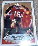 Joe Montana 1990 Fleer Card #10