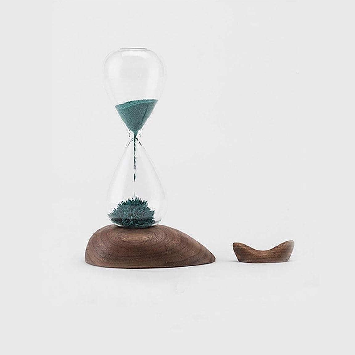 荷物専制パッケージJIAYIZS 砂時計、磁気砂時計スタイル、クリエイティブデザインおよび外観は、Aとても良いギフトBeautifuです (Size : Green)