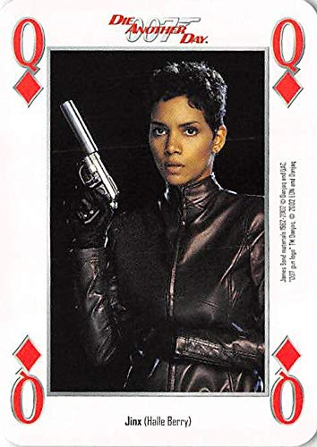 Halle Berry trading card gaming Jinx 007 James Bond Die Another Day #QD with Gun