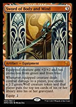 Magic the Gathering Sword of Body and Mind - Foil - Masterpiece Series