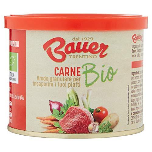 Bauer Brodo Granulare Istantaneo di Carne Bio - 120 Gr