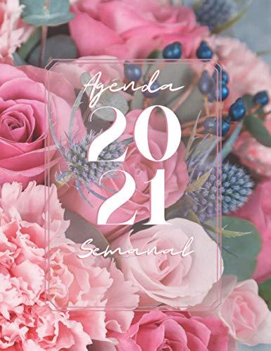 Agenda Semanal 2021: Planificador con Versículos Bíblicos...