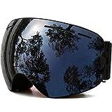 ZPEE Gafas de esquí Lentes de esquí Gafas Intercambiables Nieve Gafas, una Variedad de Opciones Gafas para Deportes de Nieve (Color : F)