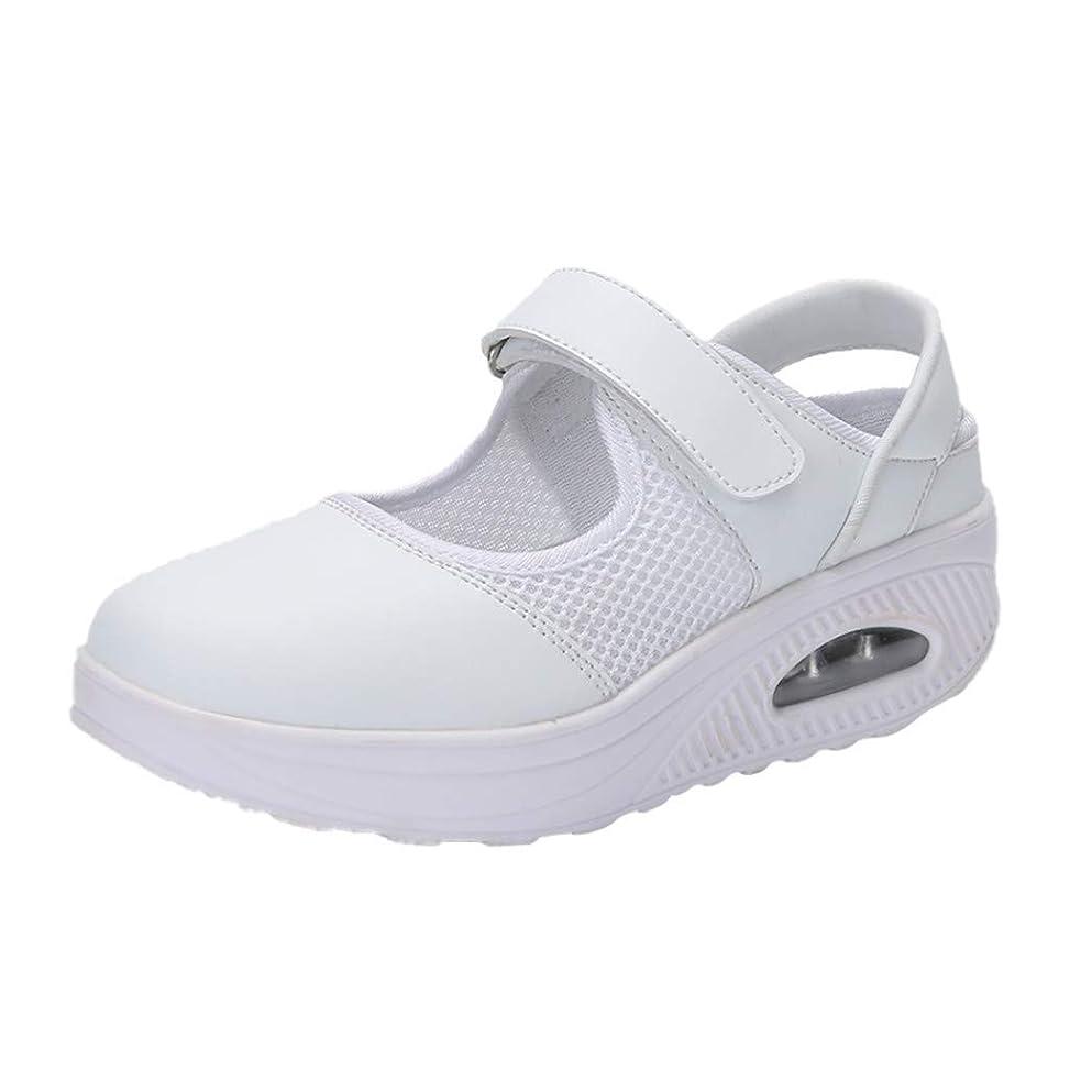 ナースシューズ liqiuxiang お母さん 婦人靴 スボーツスニーカー ウォーキングシューズ 看護師 作業靴 軽量 マジックタイプ スニーカーサンダル ケアセフティ レディース