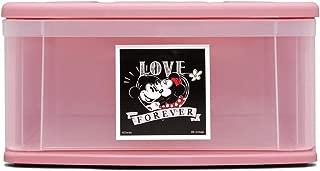 アイリスオーヤマ チェストI 衣装ケース 引き出し ディズニー ミッキー/ピンク 幅37.6×奥行52.8×高さ19.7cm  M