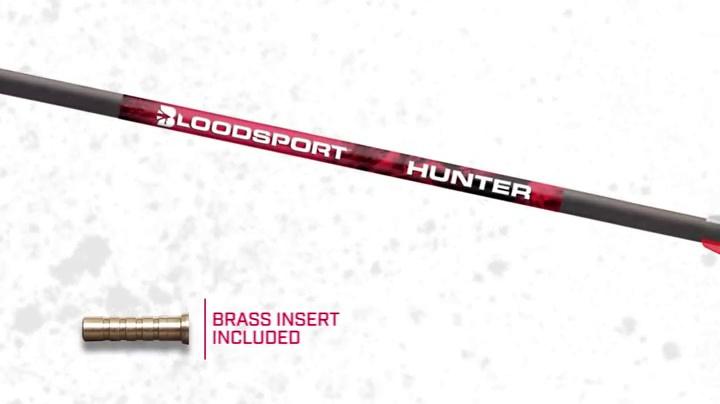 Nouveau 20 pouces carbon Crossbow Arrows With Field POINTS 5 Pack Barnett Outdoors
