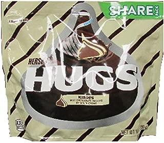 HERSHEY'S HUGS & KISSES Chocolate Candy, 10.6 oz Bag