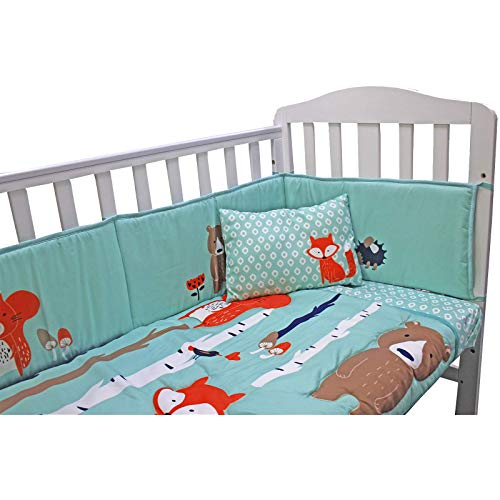 Parure de lit complète pour lit d'enfant avec housse de couette, drap-housse et taie d'oreiller.