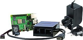 Raspberry Pi 4 Model B 8GB Starter Kit, Black