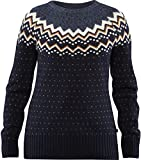 Fjallraven - Women's Ovik Knit Sweater, Dark Navy, S