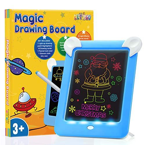 ATOPDREAM Kinder Spiele ab 3 Jahre, Magic pad Kinder Kinder Geschenke für Jungen ab 3 4 5 Kinderspiele für 3-12 für Junge 5 6 Jahre Schreibtafel Spielzeug für Jungen